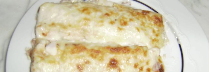 Crêpes al formaggio con tartufo