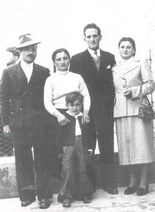 David Facchini, Assunta Pascolini, Giovanni Paciotti, Silvana Pascolini, Mario Facchini